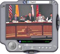 Streamed meeting