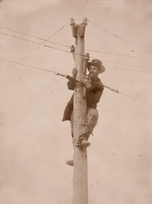 Telegraph-pole
