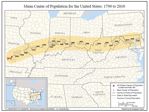 Populaton map