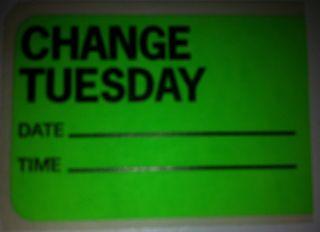 Change Tuesday