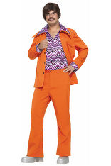 Leisure-suits-70-orange-adult-costume